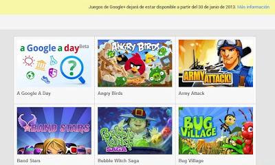 google plus juegos