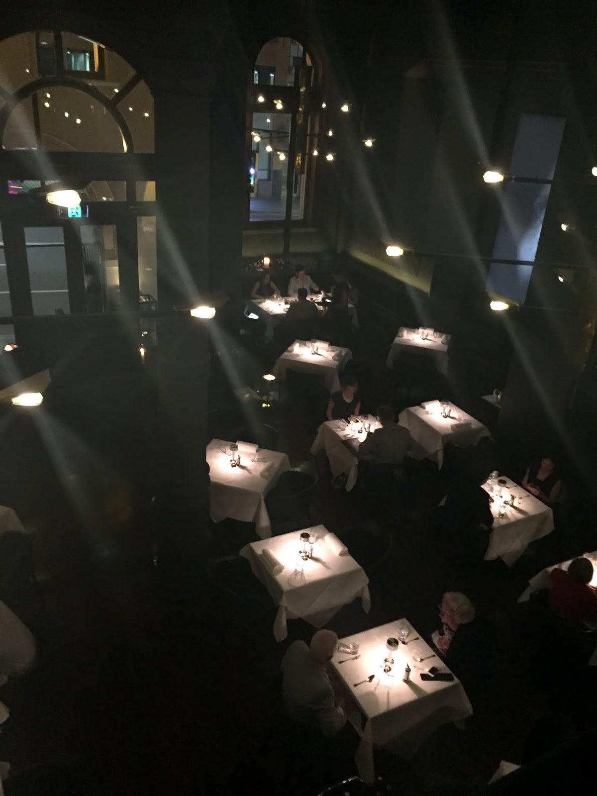 Cassie Cakes Rockpool Sydney Review Mezzanine View