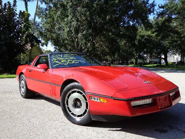 daily turismo cougarific c4 1984 chevrolet corvette. Black Bedroom Furniture Sets. Home Design Ideas