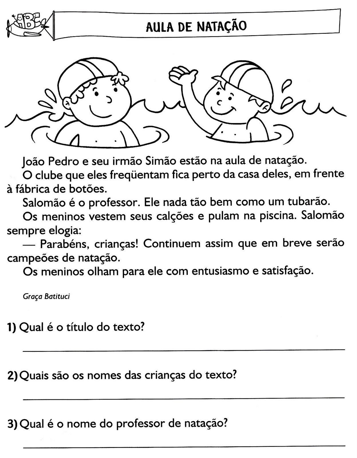 Textos E Interpreta    O 3   Ano Do Ensino Fundamental
