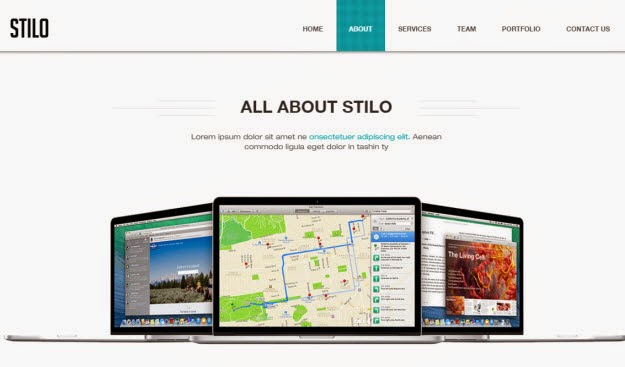 Stilo - One Page Drupal Theme