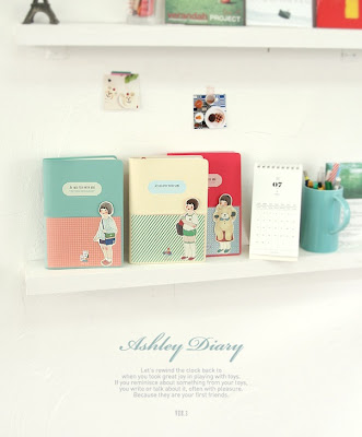 lovely 2012 illustration diary