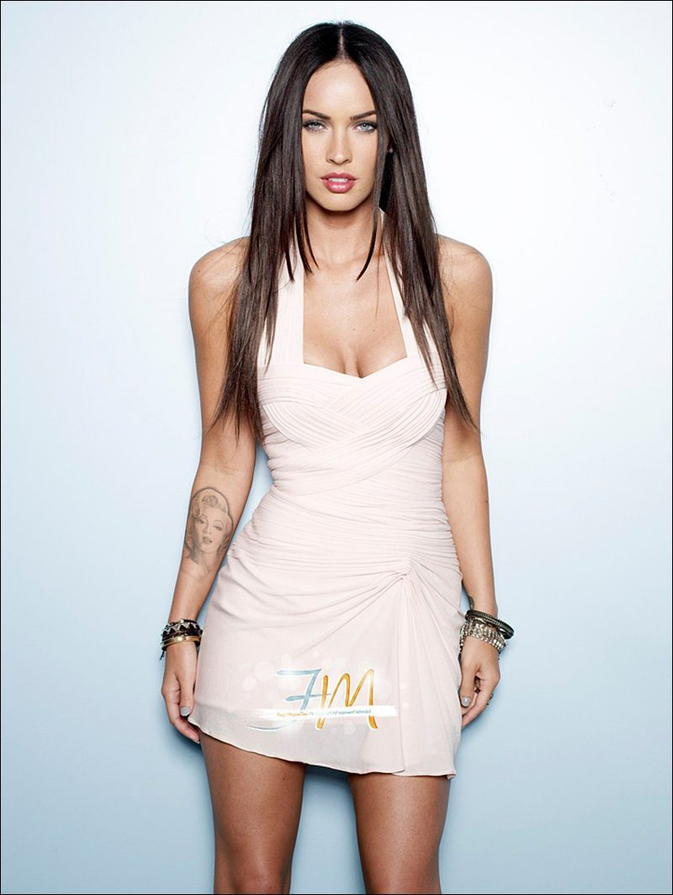 Fresh Look Like Megan Fox Hairstyles 17