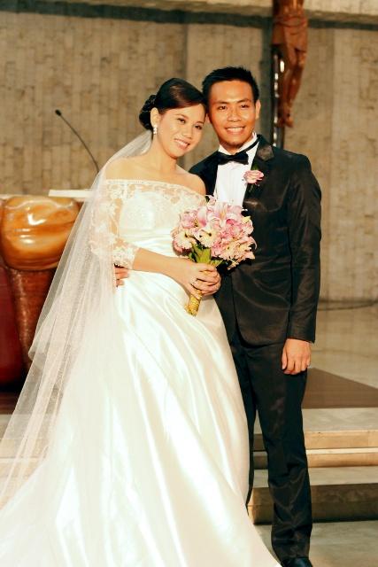 Annie & Carlo Wedding - Photo by Julienne