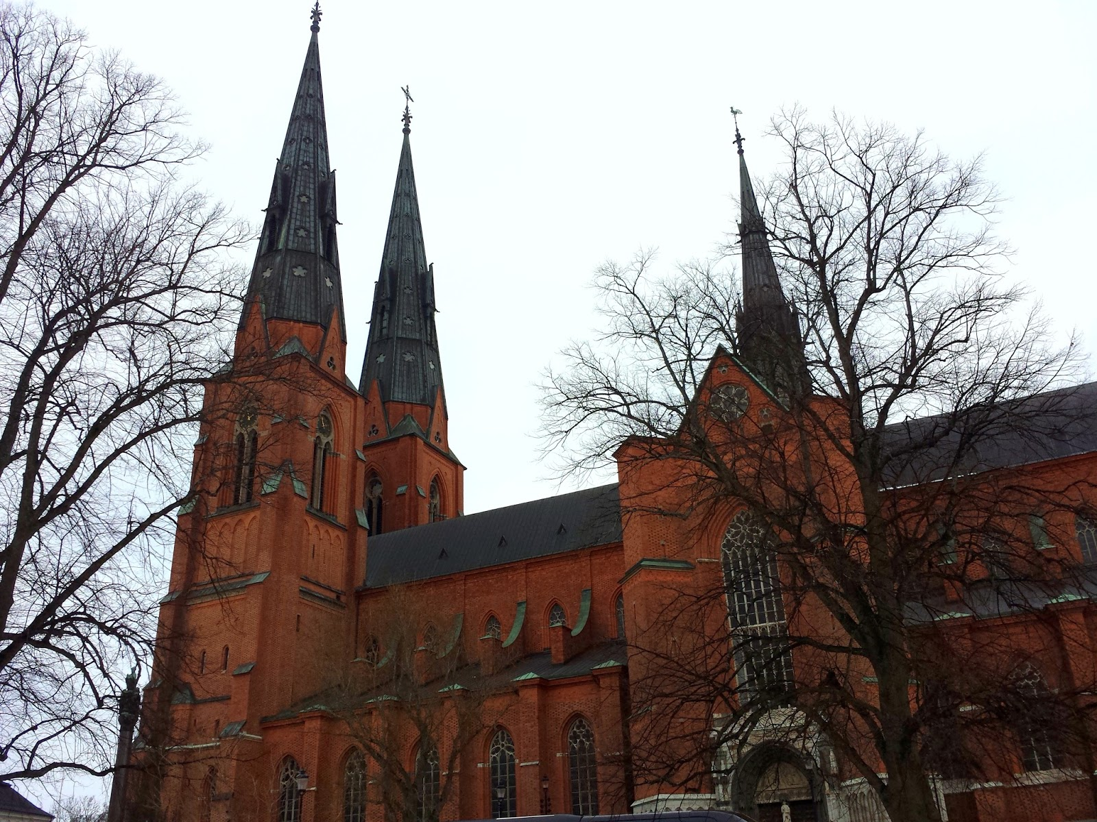 Uppsala Domkyrka Cathedral  |  An afternoon in Uppsala on afeathery*nest  |  http://afeatherynest.com