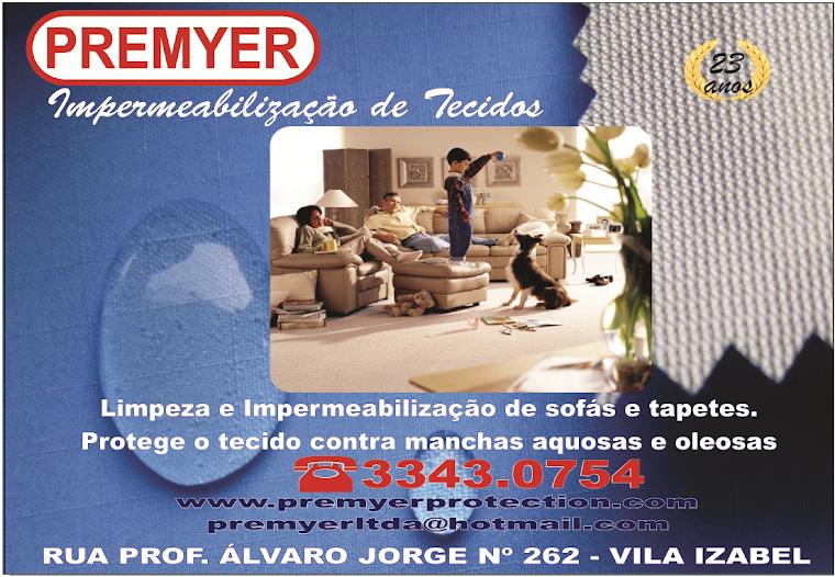PREMYER IMPERMEABILIZAÇÃO DE TECIDOS