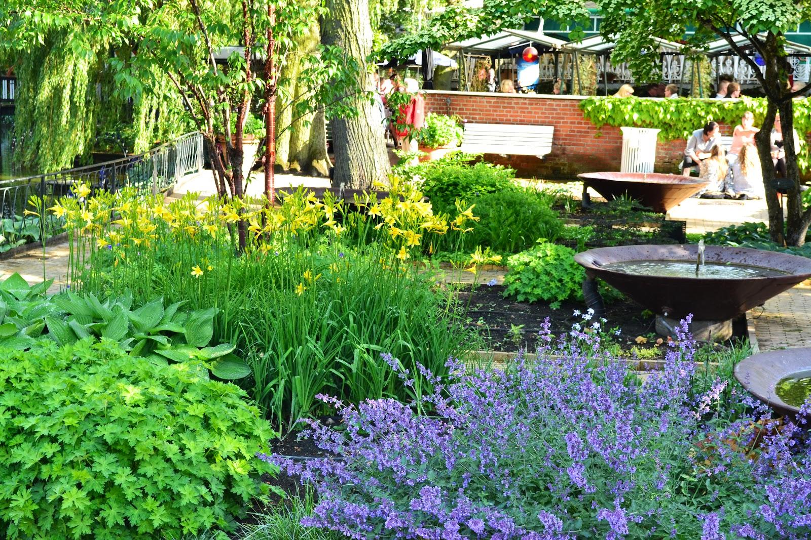 Beautiful garden in trivoli