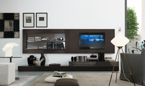 Modernos y lujosos muebles para tv para el living room o sala de ...