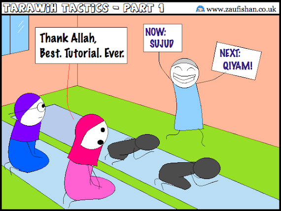 tarawih salah cartoon
