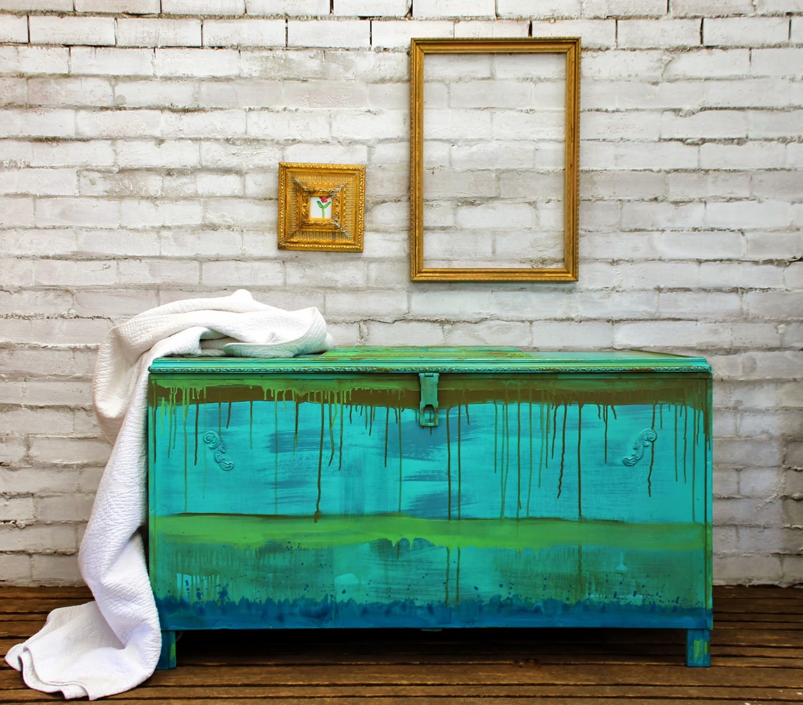 Colors of annie sloan chalk paint - Beau Ford S Drip Painted Linen Chest