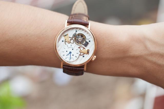 Đồng hồ nam dây da cao cấp giá rẻ Breguet