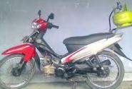 Modifikasi sepeda motor berbahan bakar Gas Elpiji