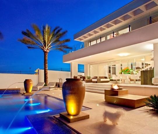 Moderna y minimalista resid ncia nj en brasil arquitexs - Sublimissime residencia nj pupogaspar arquitetura ...