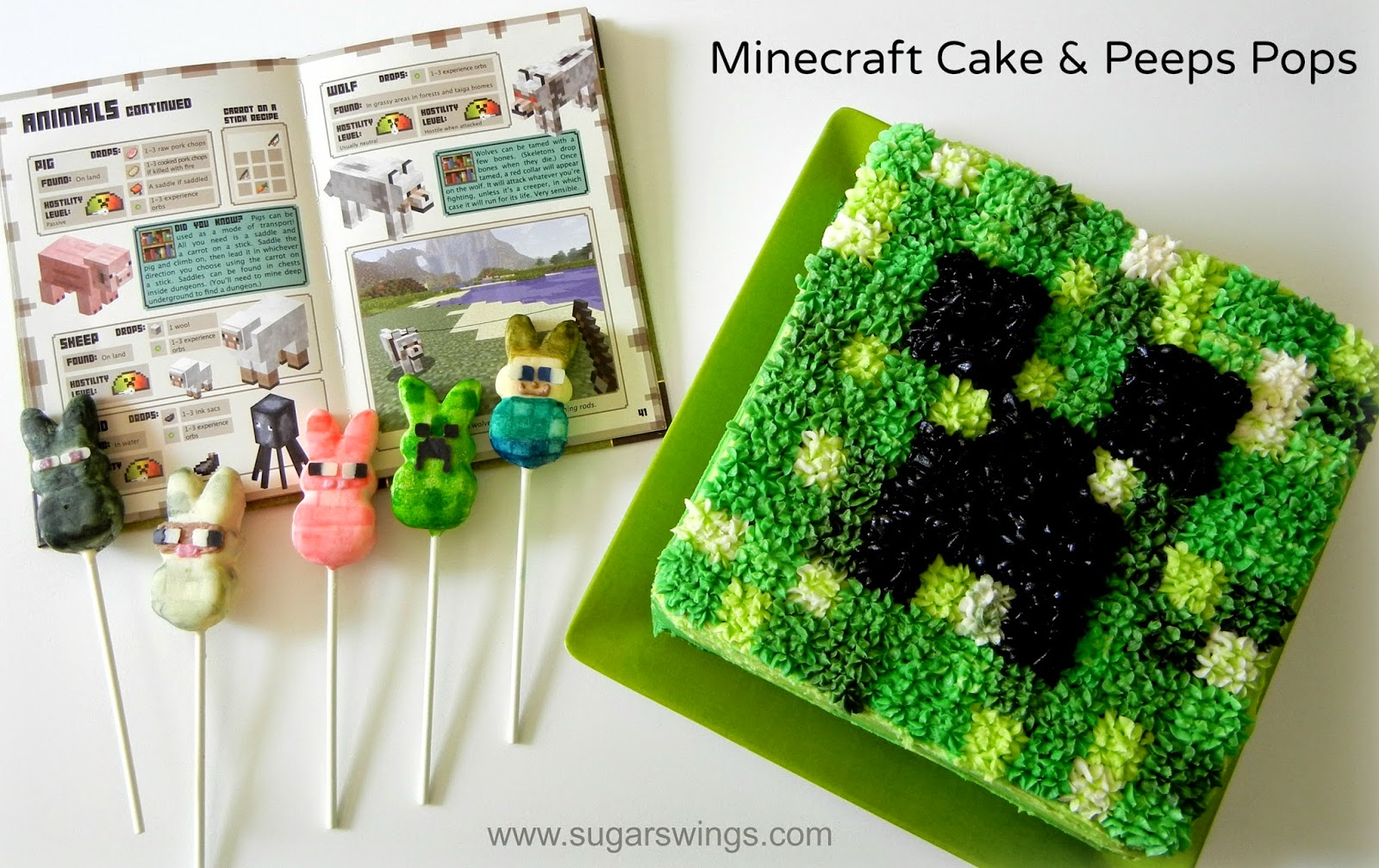 How To Make Creeper Cake Pops