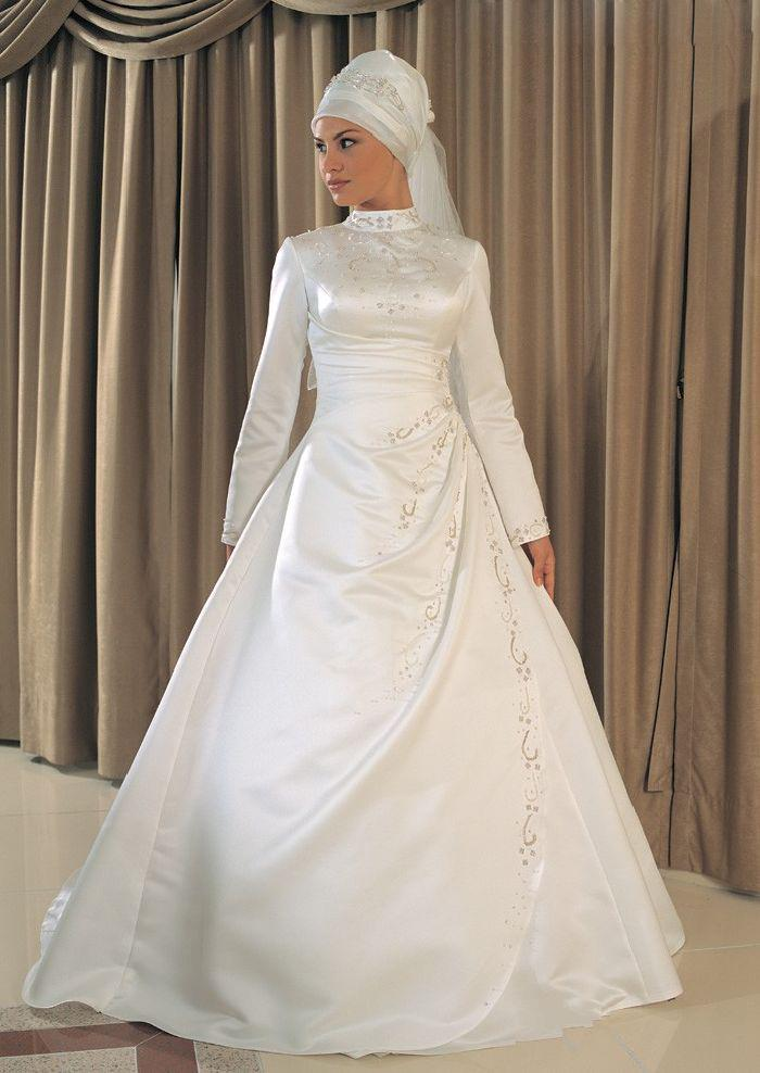 gaun pengantin muslimah (wedding dress hijab)