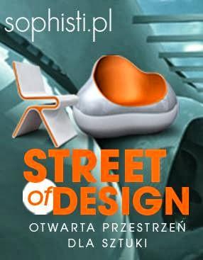 Jestem laureatką konkursu Street Of Design 2011