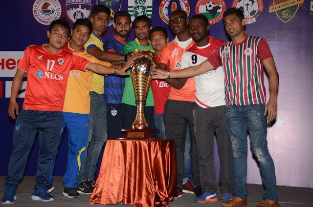 Hero i-League 2015-16 Launch