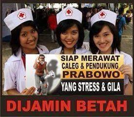 Perawat untuk Pendukung Prabowo yang Gila