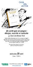 UN CORTE QUE NO SANGRA: ESCRIBIR, DIBUJAR EL INSTANTE