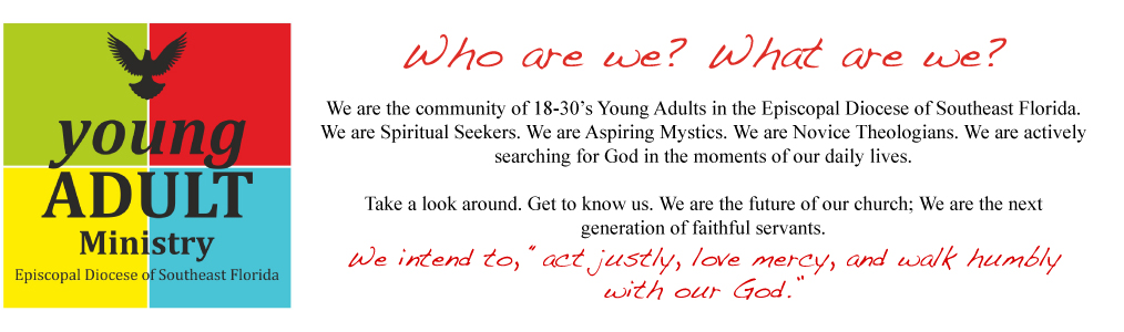 SouthEast Episcopalian Young Adults | SEE-YA | Community + Ministry + Spirituality