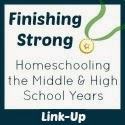 http://blogshewrote.org/2015/03/25/finishing-strong-homeschooling-the-middle-high-school-years-week-48/