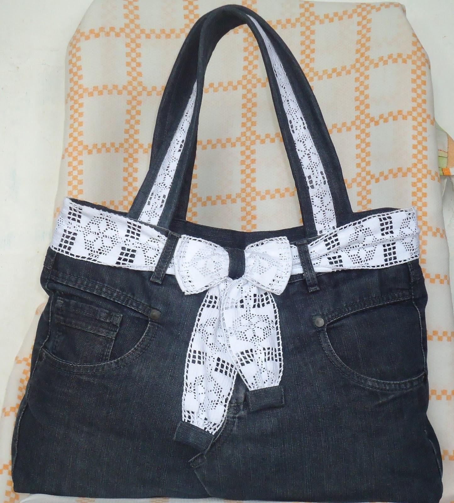 Bolsa De Tecido Jeans Passo A Passo : A modista bolsas artesanais bolsa de cal?a jeans