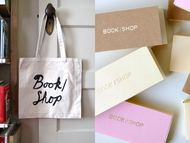 Book / Shop Tote & Bookmarks