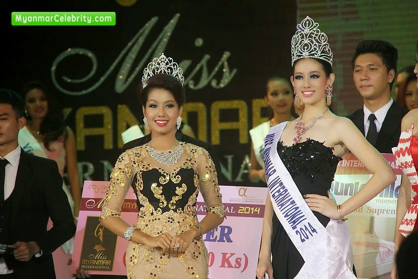 Miss Myanmar International 2014 winner Khin Wai Phyo Han