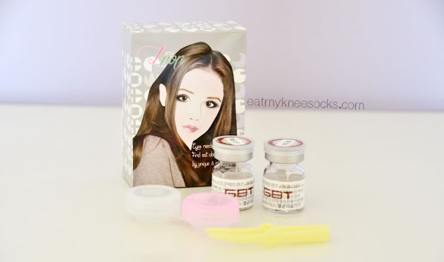 The GBT P7 Choco circle lenses from South Korean brand G&G, just $13 on Klenspop.