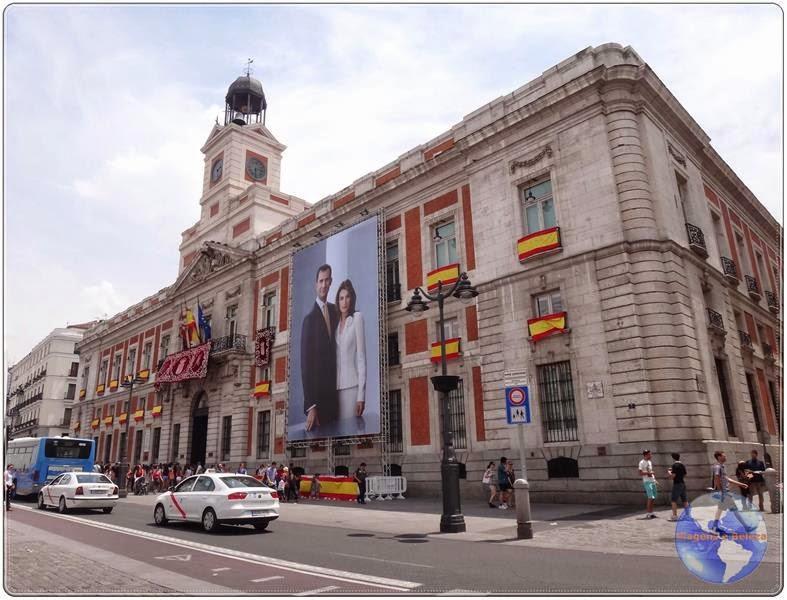 Puerta Del Sol Palco Central Dos Principais