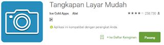 4 Aplikasi screenshot terbaik untuk android