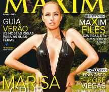 Gatas QB - Marisa Cruz Maxim Portugal Julho/Agosto 2013