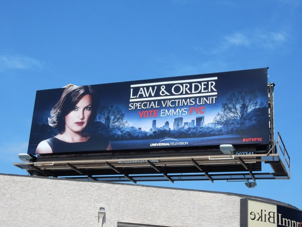 Law and Order Special Victims Unit 2015 Emmy billboard