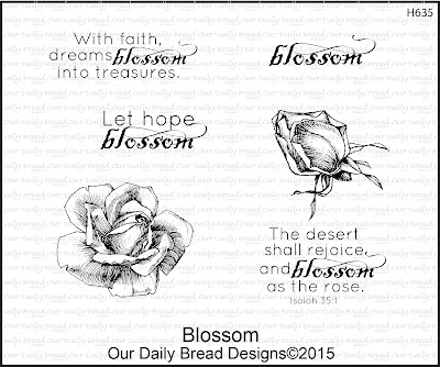 Our Daily Bread Designs Stamp set: Blossom