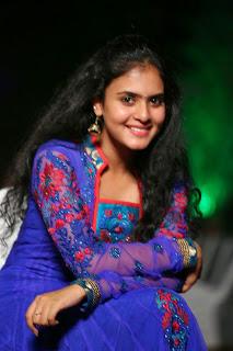 Actress Sukurthi Pictures in Salwar Kameez at Kerintha Movie Audio Launch  0041