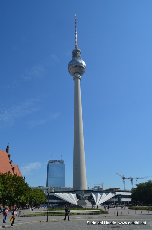 berlin tv tower berliner fernsehturm enidhi india. Black Bedroom Furniture Sets. Home Design Ideas