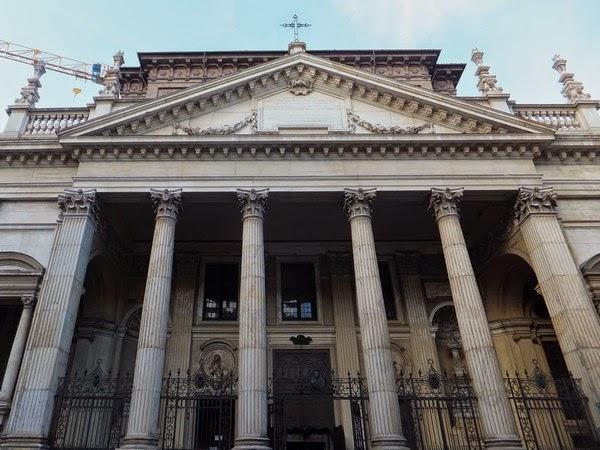 Turin Italie église chiesa san filippo neri