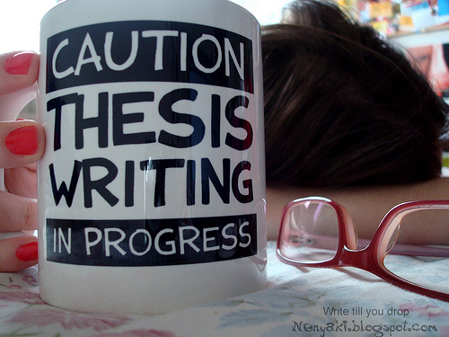 writing your doctoral thesis