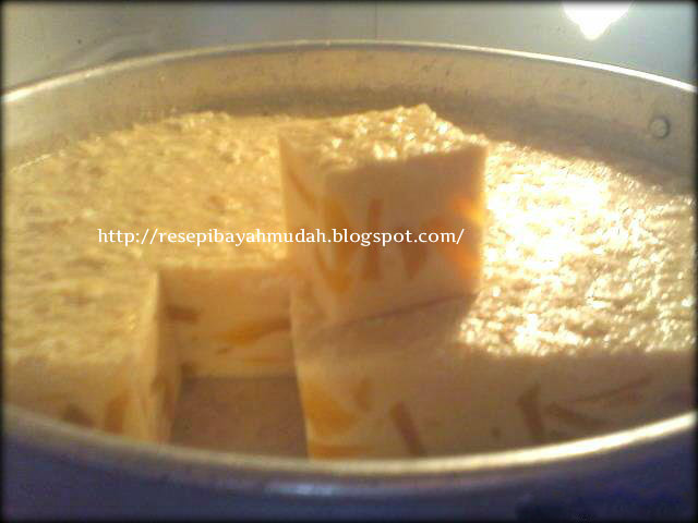 puding buah peach cake ideas and designs