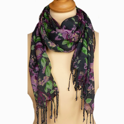 Floral Scarf For Women