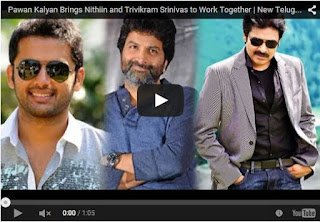 Pawan Kalyan Brings Nithiin and Trivikram Srinivas to Work Together | Latest Telugu News | HD Videos