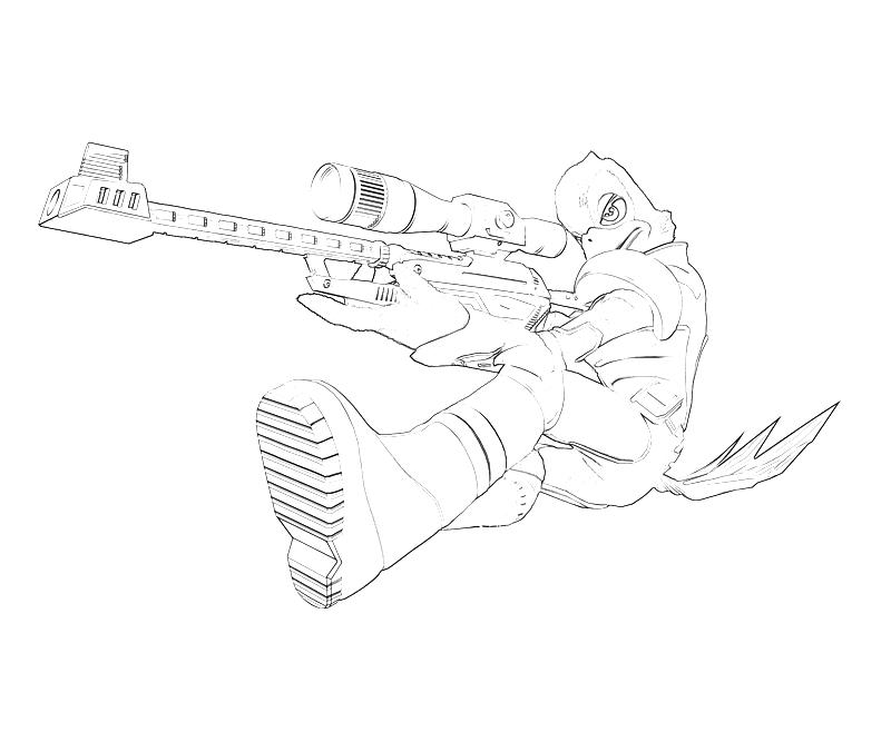 sniper coloring pages - photo#9