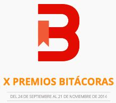 Finalista Premios Bitácoras 2014