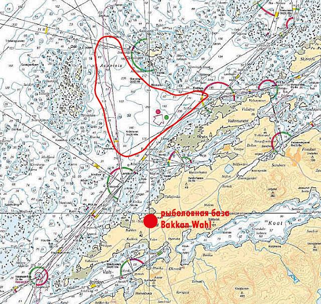 рыболовные маршруты норвегия