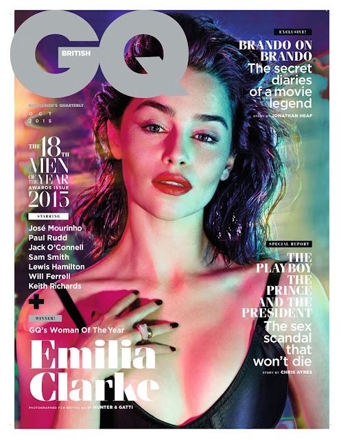 Actress @ Emilia Clarke - GQ UK, October 2015