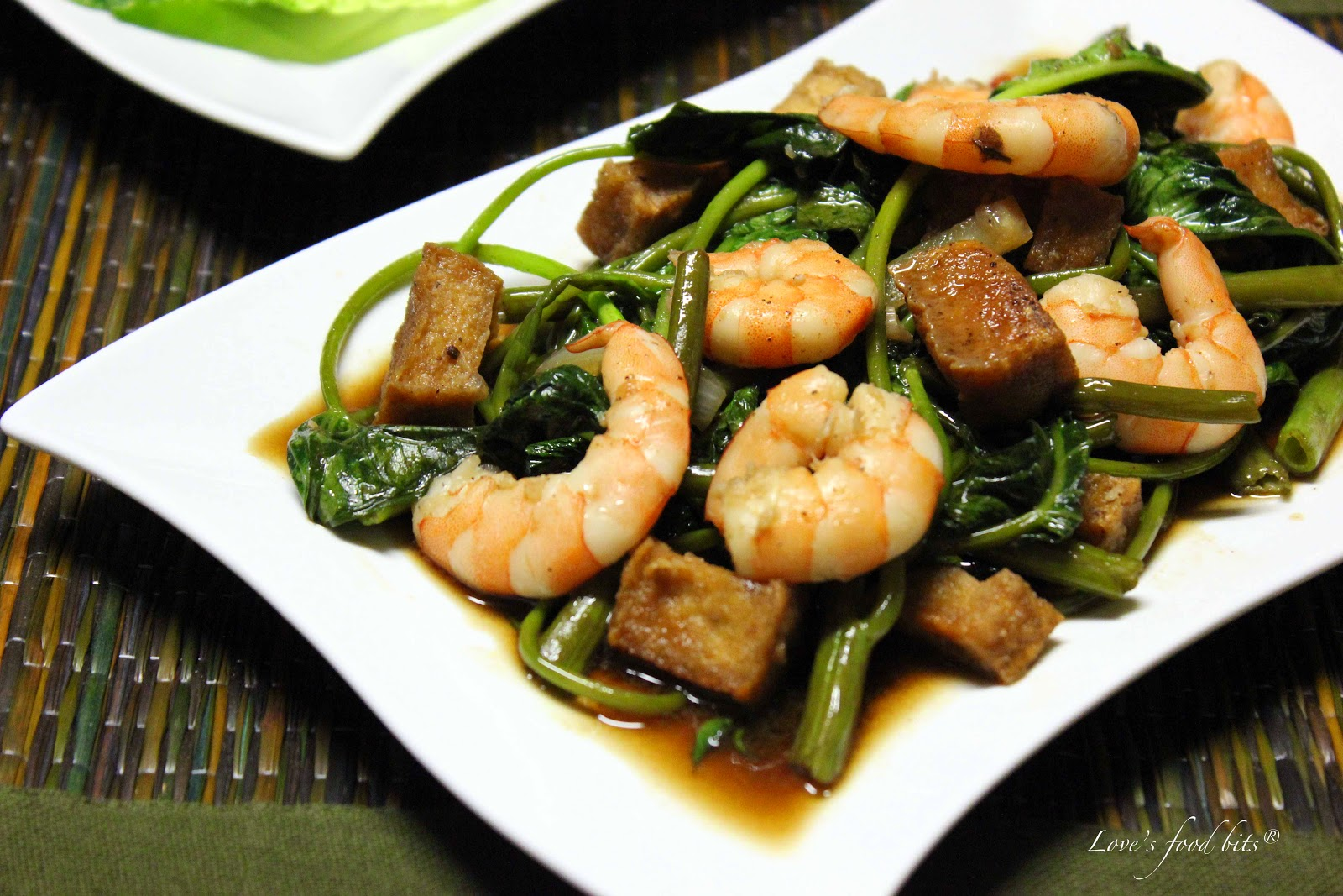 how to make adobong kangkong