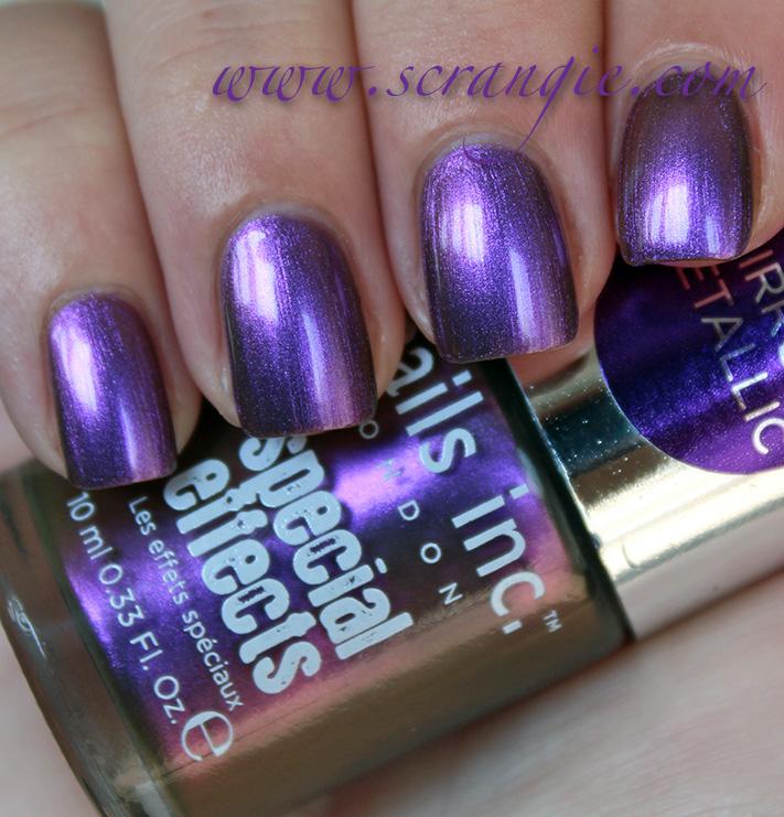 Scrangie: New Nails Inc. Special Effects Mirror Metallic