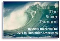 Silver Tsunami, #silvertsunami