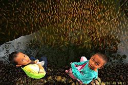 Kids &  Fish