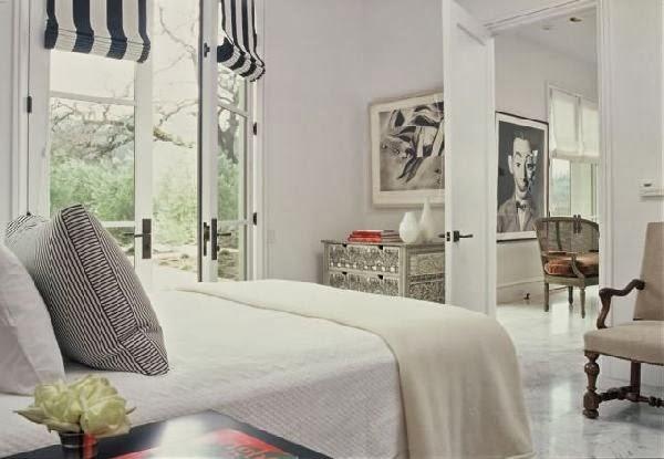 desain kamar tidur warna putih desain denah rumah minimalis
